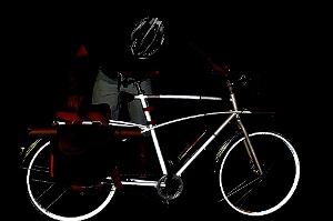 Bicicletta Catarifrangente